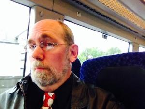 David on Train